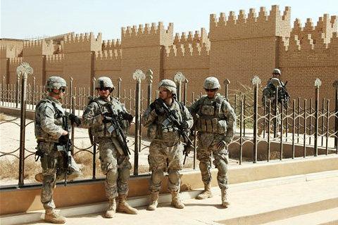 Американцы раскатали Вавилон бульдозерами