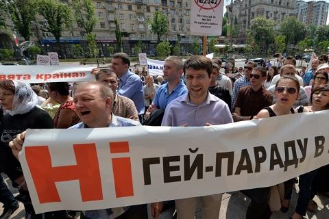 Украина не получит безвизовый режим с ЕС без закона о защите геев